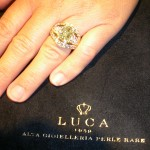 LUCA 1959 cocktail ring